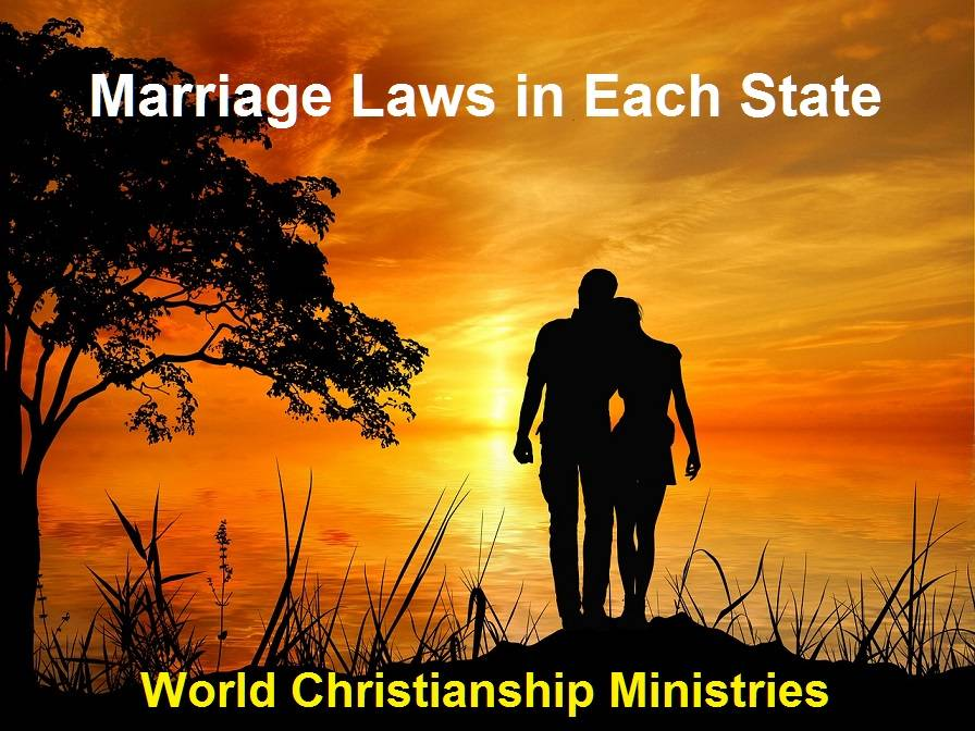 marriage laws all states