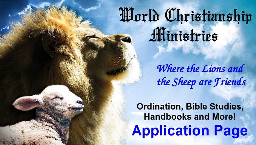 ordination home page