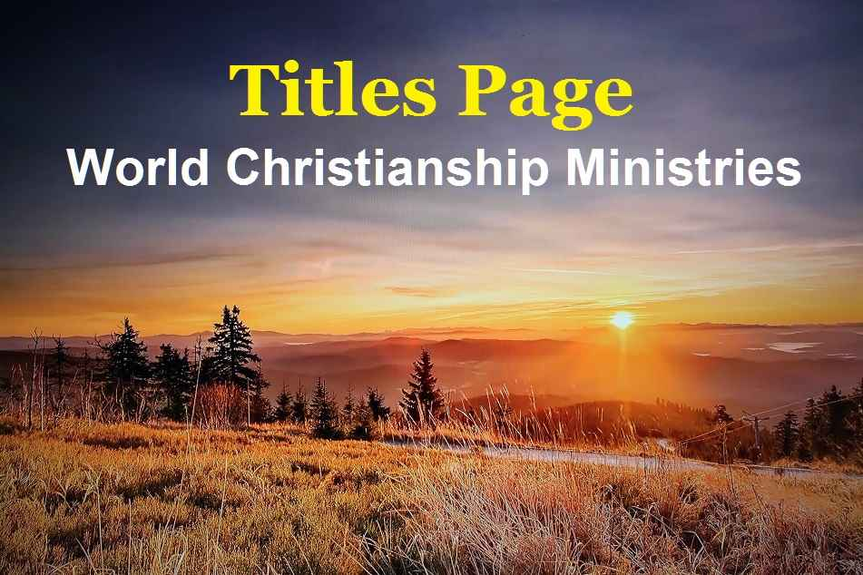 titles page