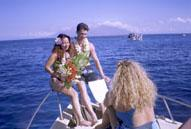 wcm boat wedding hawaii